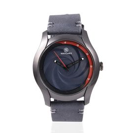STRADA Japanese Movement Water Resistant Watch with Grey Colour Strap