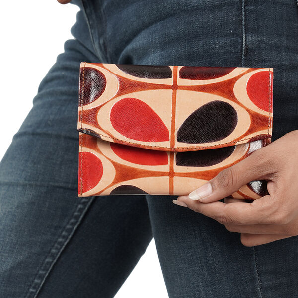 SUKRITI 100% Genuine leather Ladies Wallet (Size 19x2x10cm)