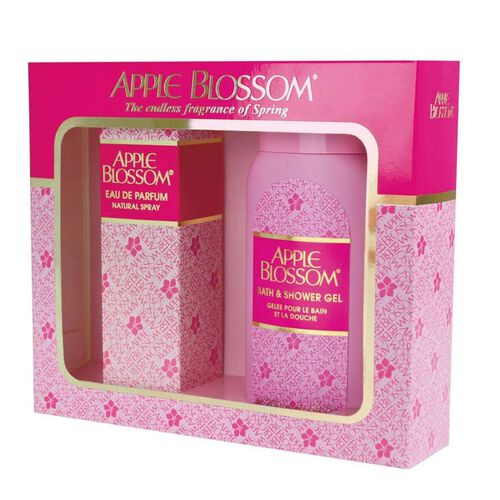 Apple Blossom: Natural Spray - 100ml and Shower Gel - 200ml