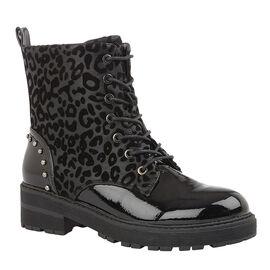 Lotus ELENA Animal Print Ankle Boots