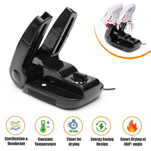 Electric Foldable Shoe Dryer -Deodoriser  - (Scalable for drying Shoes Boots, Gloves and Socks)