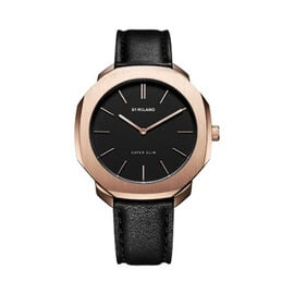 D1 Milano - Mens Watch (36mm) in Italian Leather Black Strap