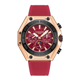 GAMAGES OF LONDON Limited Edition Hand Assembled Vault Automatic Rose Red