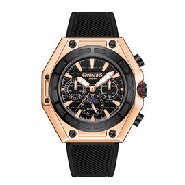 GAMAGES OF LONDON Limited Edition Hand Assembled Vault Automatic Rose Black