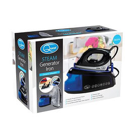 QUEST Steam Generator Iron Gen 2400W 1.2 Litre - Blue