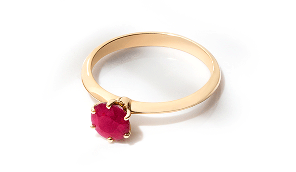 Ruby birthstone of the month