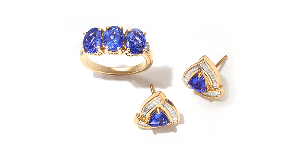 Tanzanite birthstone of the month