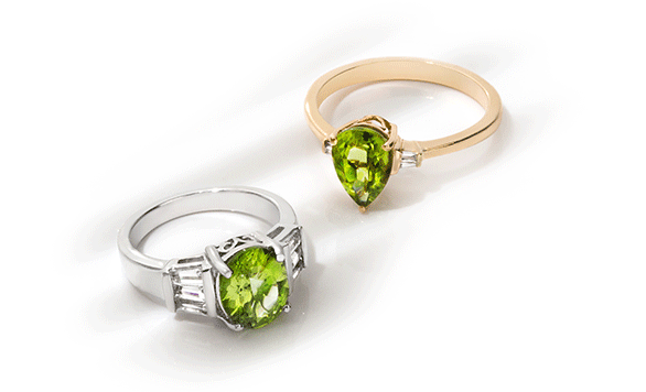 Peridot birthstone of the month