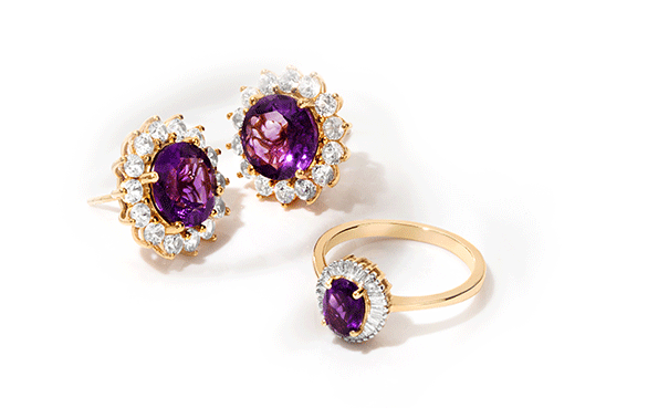 Amethyst birthstone of the month