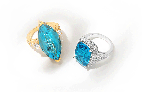 Topaz birthstone of the month