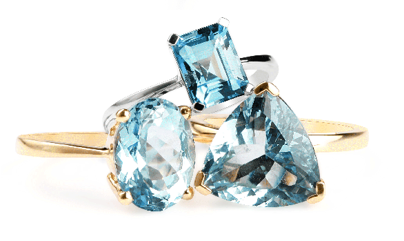 Aquamarine birthstone of the month