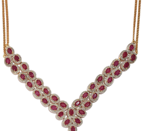 Buy Ruby Necklaces Online in UK