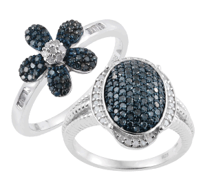 Buy Blue Diamonds Rings Online in UK