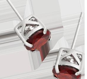 Buy Garnet Earrings Online in UK