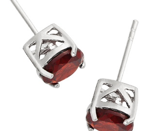Buy Garnet Earrings Online in UK