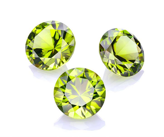 Peridot, birthstone of the month