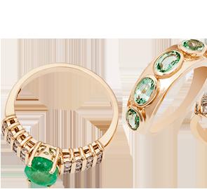 Emerald Rings Online in UK