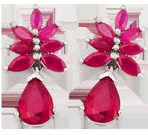 Buy Ruby Earrings Online in UK