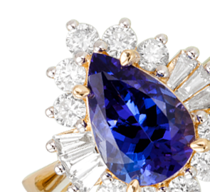 Tanzanite Rings Online in UK