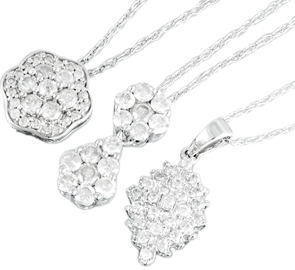 Buy White Gold Jewellery Online in UK