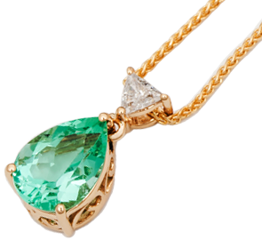 Emerald Necklaces Online in UK