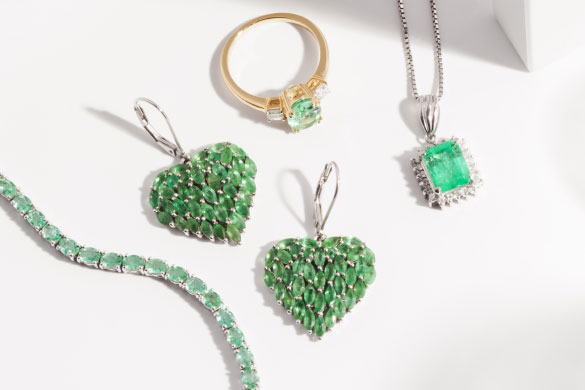 Emerald, birthstone of the month