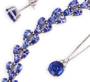 Tanzanite Jewellery Online in UK