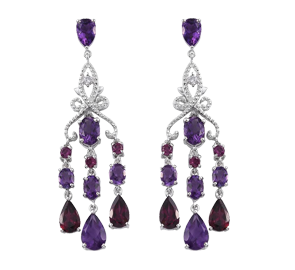 Buy Amethyst Earrings Online in UK